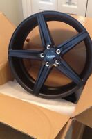 Jeep grand cherokee rims mags black 22 inch inches Black 22inch