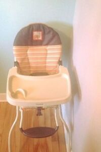 Toddler high chair from Target