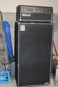 Ampeg 450-SVT Head with 8x10 cab for sale
