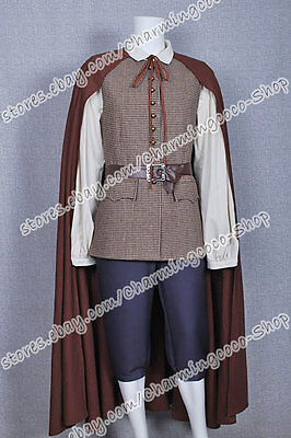 Pirates Of The Caribbean Cosplay Will Turner Brown Uniform Costume High Quality - Pirates Of The Caribbean Will Turner Costume