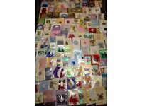 Large lot of handmade cards 130+