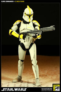 NEW Sideshow Collectibles Star Wars Clone Commander Phase 1 Stirling Stirling Area Preview