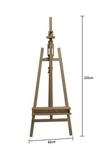 Pro Heavy Duty Foldable 235cm Wooden Tripod Easel (BRAND NEW) Newcastle East Newcastle Area Preview