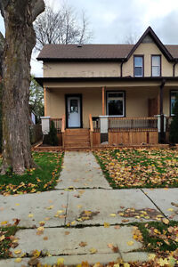Newly renovated Two Story semi-detached Home in Galt Cambridge