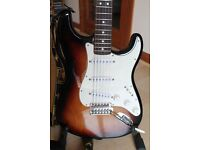 Fender Stratocaster with upgrades