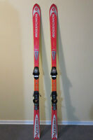Rossignol Mountain Viper Skis, 160cm with salomon bindings