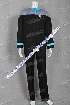 Star Trek Nemesis Medical Science Cosplay Costume Uniform Outfit High Quality - High Quality Star Trek Uniform