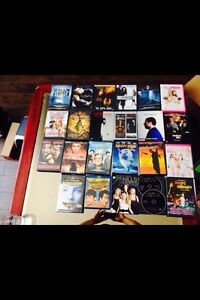 DVDs and Blue Rays.