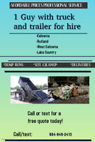 Junk Removal - Disposal Services - Hauling (Veteran operated)
