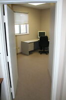 LARGE OFFICE FOR RENT, BURLINGTON - FREE INTERNET!