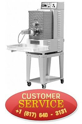 Daniela Commercial Pasta Machine Tr 95 With Electric Cutter And 2 Dies