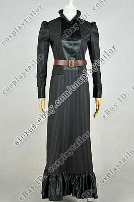 Who Buy Doctor The Snowmen Jenny Flint Cosplay Costume Dress Uniform Halloween