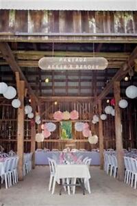 décoration mariage / Rosette en papier & Lanterne en papier Gatineau Ottawa / Gatineau Area image 2