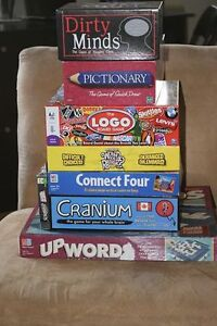 Board Games and Travel Books