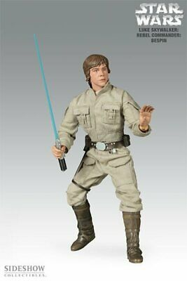 Sideshow Exclusive Star Wars Luke Skywalker Rebel Commander Bespin 1:6 SCALE