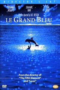 The Big Blue: Le Grand Bleu  (1988) New Sealed DVD Luc Besson