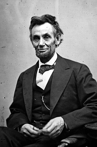 New 5x7 Photo: Last Photo of President Abraham Lincoln