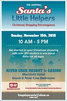7th Annual Santas Little Helpers Christmas Shopping Extravaganza