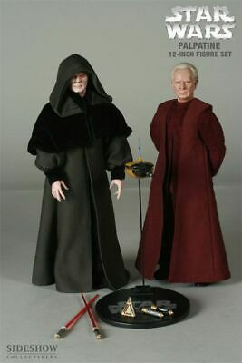 Sideshow Exclusive Star Wars Chancellor Palpatine Darth Sidious 2 pack 1:6 SCALE