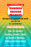 Brandon's Summer Indoor Market