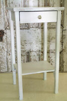 SIDE TABLE, HALL TABLE, REFINISHED, SHABBY CHIC, FRENCH COUNTRY