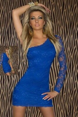 Sexy Elegant Blue or Pink Grease Mini Shoulder Dress Party Bodycon Fitted](Grease Party Clothes)