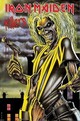 IRON MAIDEN ~ KILLERS 24x36 POSTER Music Eddie Derek Riggs Art NEW/ROLLED!