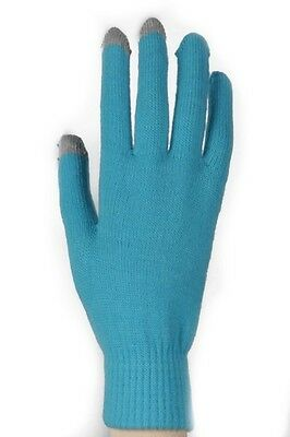 Women's Neon Solid Color Message Touch Texting Gloves From Yelete One - Neon Gloves