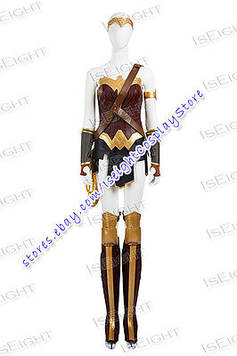 Superhero Dawn Of Justice Wonder Woman Diana Prince Cosplay Costume - Cool Superheroes Costumes