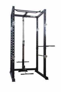 Brand NEW PK1 Cage with Lat Pulldown and Low Row Cable