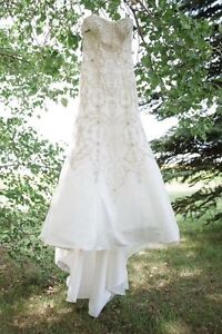 One of a kind wedding dress