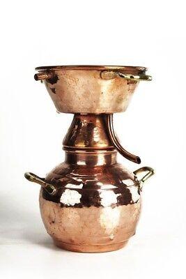 CopperGarden Alquitara Destille ❀ 0,5 Liter ❀ mit viel Liebe handgeschmiedet