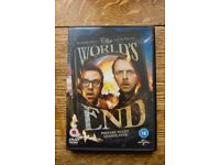 The Worlds End DVD (Simon Pegg + Nick Frost)