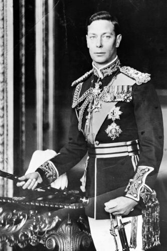 New 5x7 Photo: His Majesty King George VI of the United Kingdom, England