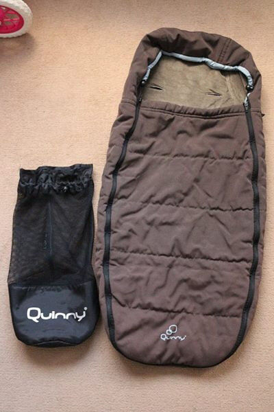 Quinny footmuff with bag