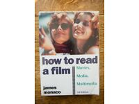 How to Read a Film: Movies, Media, and Beyond by James Monaco (2009) Film Studies Book