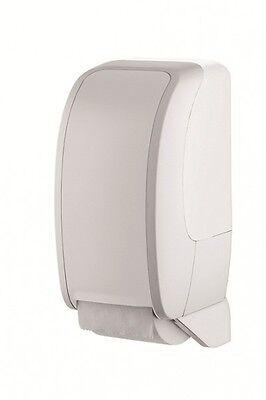 Toilettenpapierhalter, WC Papierspender Kunststoff, weiß, für 2 Rollen