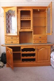 Sideboard and matching display unit