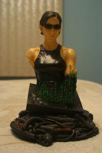 Figurine Buste de Trinity de la Matrice - Carrie-Anne Moss