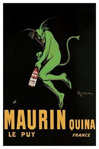 MAURIN QUINA - CAPPIELLO ART POSTER - 24x36 SHRINK WRAPPED - 666