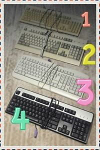 LOT of COMPUTER KEYBOARDS --- MUST SEE Picture! $2 (PICKUP ONLY)