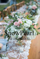 SnowPearl Decor Custom Designs chair covers and table cloths