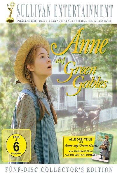 ANNE AUF GREEN GABLES (5 DVD COLLECTOR'S BOX) 5 DVD NEU