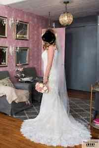 Magnifique robe de mariée vintage