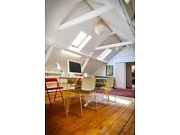 Beautiful large workspace studio office available in Whitechapel 1400 sqft
