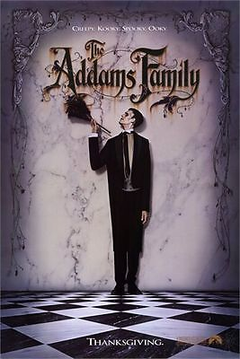 ADDAMS FAMILY 1991 Carel Struycken US 1-SHEET POSTER