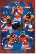 Denver Broncos Team Poster
