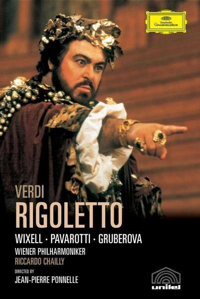 """LUCIANO PAVAROTTI """"VERDI: RIGOLETTO (GA)"""" DVD NEUWARE"""