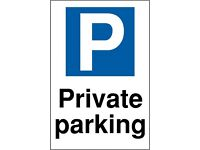 Secure parking space near Uni and Hospitals on monthly basis (£100) av. now!!!