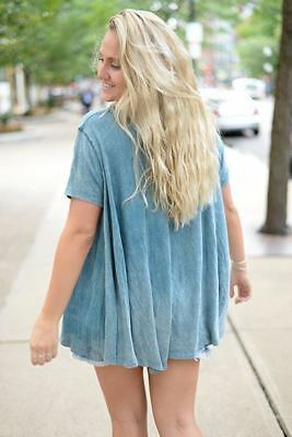 Free People Circle In The Sand Top  Solid